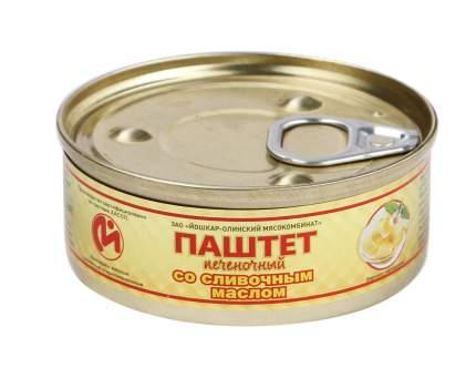 Консервы мясные ЙОМ паштет печеночный  со сливочным маслом  №1 100 г