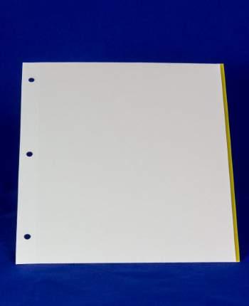 Страницы для магнитного альбома на трех кольцах 23х28см