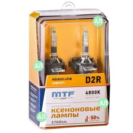 Лампа ксеноновая D2R MTF-Light Absolute Vision 3700lm (2шт.)