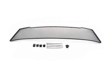 Сетка на бампер внешняя arbori  для VW Caddy 2010-2019, хром, 20 мм сота