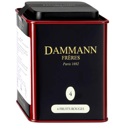 Чай черный Dammann Fruit Rouges 100 г