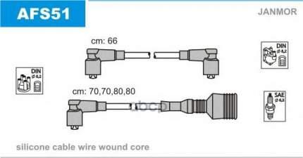 Комплект проводов зажигания JANMOR AFS51