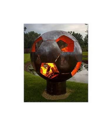 Чаша для костра 1Mangal Футбольный мяч - INOX