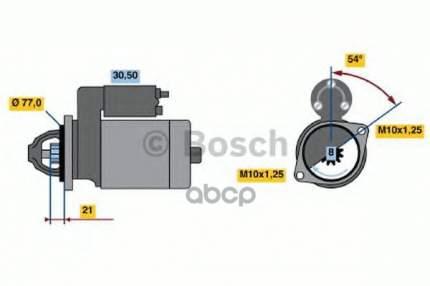 стартер Bosch 0986022591