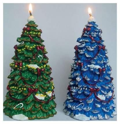 Новогодняя свеча Snowmen Е50492 Синий
