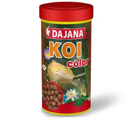 Корм для прудовых рыб Dajana Koi Color, палочки, 1 л