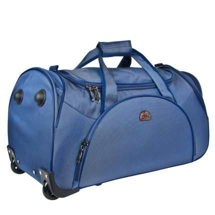 Дорожная сумка Polar 7037.5 синий 33 x 65 x 35