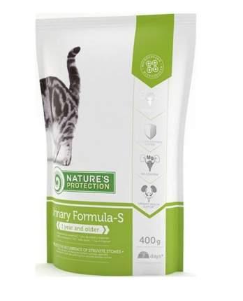 Сухой корм для кошек Nature's Protection URINARY, профилактика МКБ, домашняя птица, 0,4кг