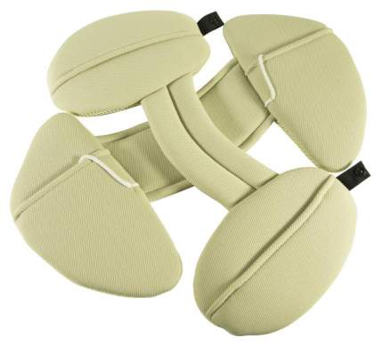Подушка для автокресла Ailebebe Premium cushion set Бежевая