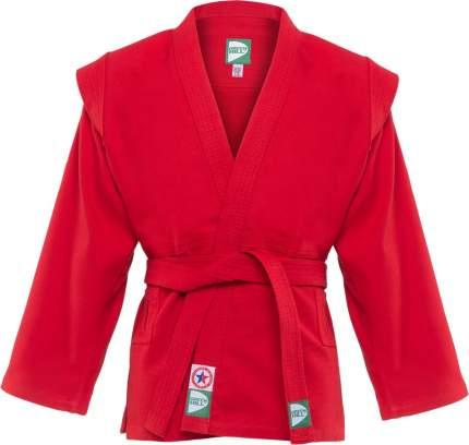 Куртка для самбо Green Hill JS-302, красная, р.2/150