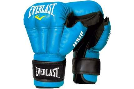 Перчатки для рукопашного боя Everlast HSIF RF3212, 12oz, к/з, синий