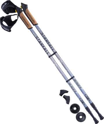 Палки для скандинавской ходьбы Berger Starfall, 77-135 см, серый/черный/белый