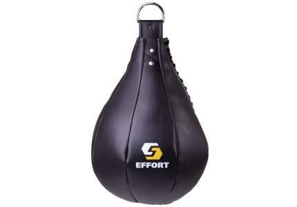 Груша боксерская Effort E521, кожзам, 5 кг, черный