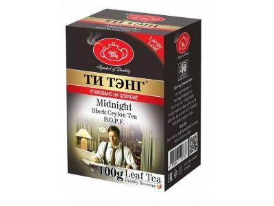 Чай весовой черный Ти Тэнг B.O.F.P Midhight 100 г