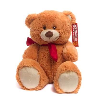 Мягкая игрушка Мишка малый в шарфе 45 см Нижегородская игрушка См-427-5