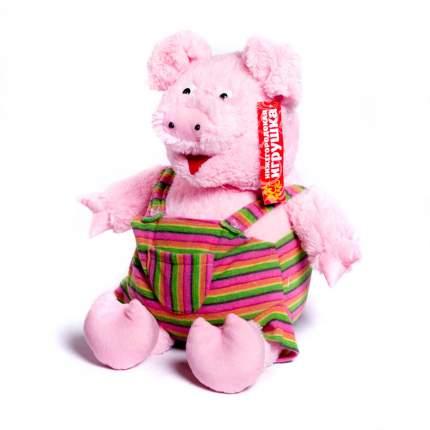 Мягкая игрушка Свинья в комбинезоне 60 см Нижегородская игрушка См-754-5