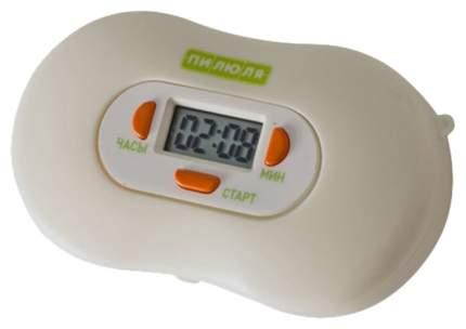 Таблетница Пилюля электронная с таймером для трех видов лекарств