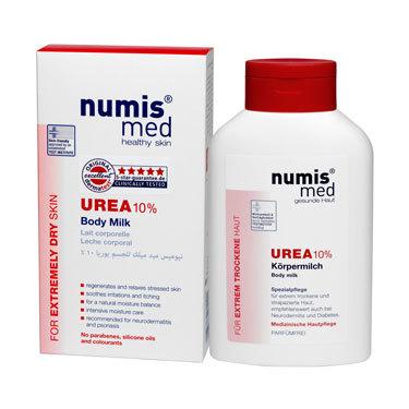 Молочко для тела Numis Med с 10 % мочевиной, 300 мл