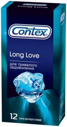 Презервативы Contex Long Love 12 шт.