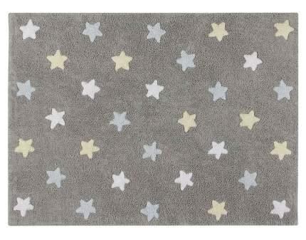 Lorena canals ковер триколор звезды stars tricolor (серо-голубой) 120*160