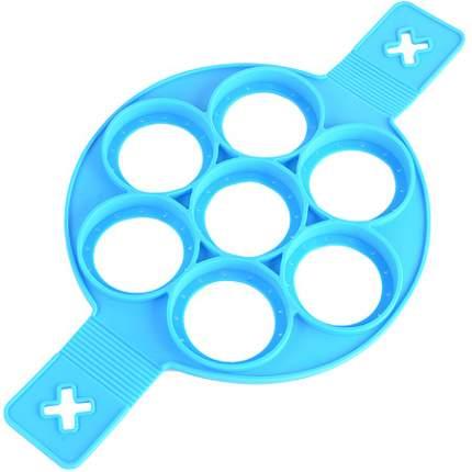 Форма Mayer&Boch для оладий силикон, голубая, 88850-2