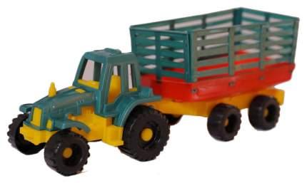 Строительная техника ToyBola Трактор с прицепом TB-011