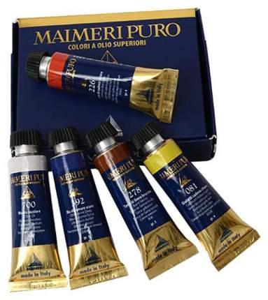 Масляные краски Maimeri Puro в тубах 098050 5 цветов