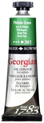 Масляная краска Daler Rowney Georgian зеленый 38 мл