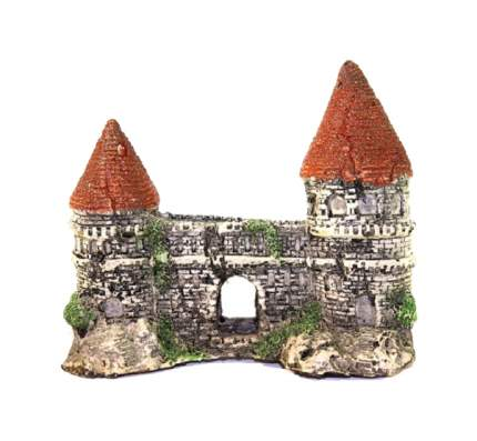 Грот для аквариума Deksi Малый замок № 611, пластик, 13х6х11 см
