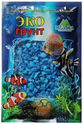 Грунт для аквариума ЭКОгрунт Мраморная крошка Голубая 5 - 10 мм 3,5 кг