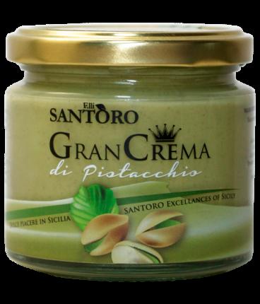 Фисташковый сладкий крем Santoro Gran crema di pistacchio 212 мл