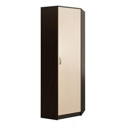 Платяной шкаф MFMaster MAS_MST-PDO-SHU-R-20-VD 70х70х200, венге/дуб молочный