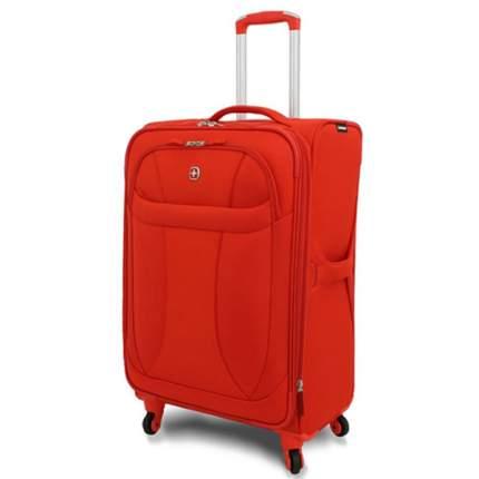 "Wenger чемодан ""NEO LITE Spinner"", оранжевый, полиэстер, 48х27x74 см, 96 л / Wenger"