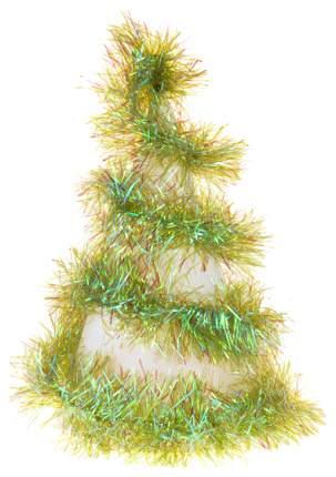 Мишура Snowmen Новогоднее украшение четырехслойная 2,7 м, Разноцветная