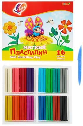 ЛУЧ Пластилин мягкий Кроха, 16 цветов 28С 1646-08