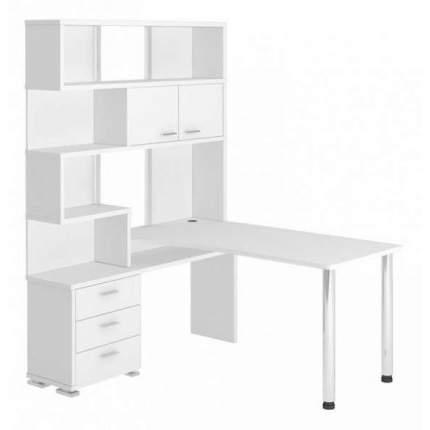 Компьютерный стол Мэрдэс Домино СР-420/150 MER_SR-420_150_BE-LEV, белый жемчуг
