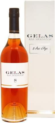 Арманьяк Gelas Bas Armagnac 8 ans gift box 0.7 л