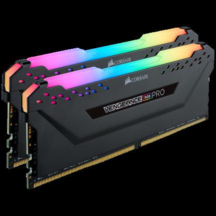 Оперативная память Corsair VENGEANCE RGB PRO CMW16GX4M2K4000C19