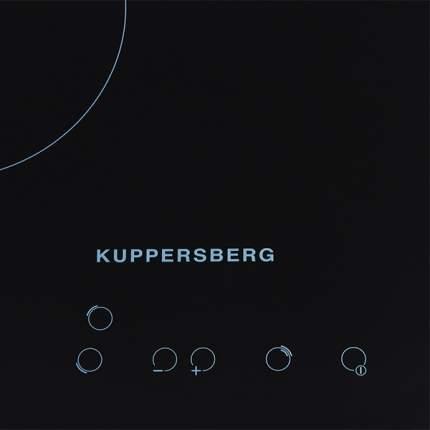 Встраиваемая варочная панель электрическая KUPPERSBERG SA45VT02 Black
