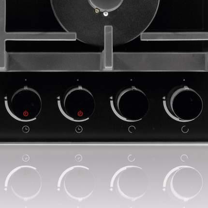 Встраиваемая варочная панель газовая Gorenje GKT6SY2B Black
