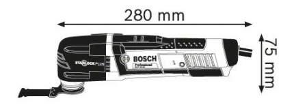 Сетевой реноватор Bosch GOP 30-28 601237001