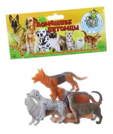 Набор животных Bondibon ребятам о зверятах, домашние питомцы, 3-4