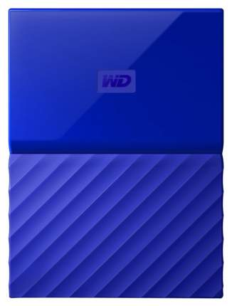 Внешний диск HDD WD My Passport 1TB Blue (WDBBEX0010BBL-VB)