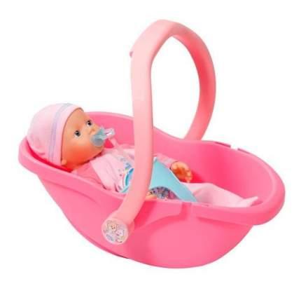 Кукла Zapf Creation My Little Baby Born и кресло-переноска, 32 см