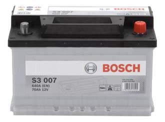 Аккумулятор автомобильный автомобильный Bosch S3 0 092 S30 070 70 Ач