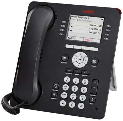 IP Телефон Avaya 9611G Черный/Серый 700480593/700504845