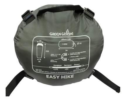 Спальный мешок Green Glade Easy Hike серый, без молнии