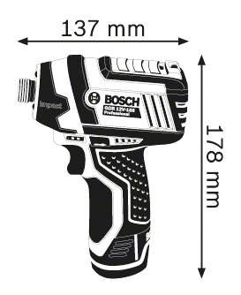 Аккумуляторная дрель-шуруповерт Bosch GDR 10,8-LI 06019A6977