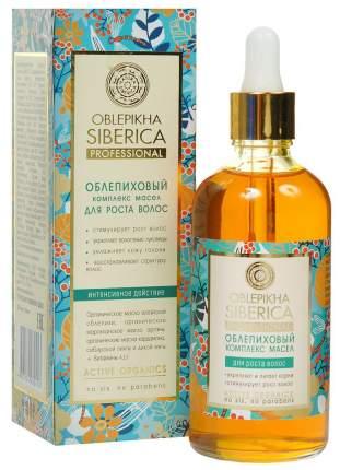 Масло для волос Natura Siberica Облепиховый комплекс масел 100 мл