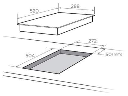 Встраиваемая варочная панель индукционная Midea MIH 32335 F Black